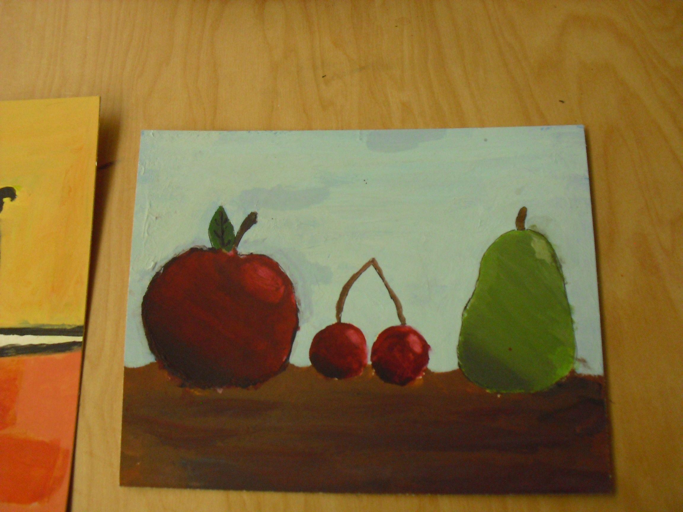 favorite food paintings