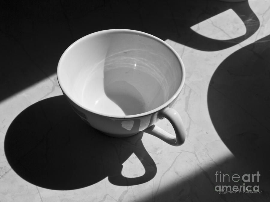 Coffee Cup in Light and Shadow by David Gordon