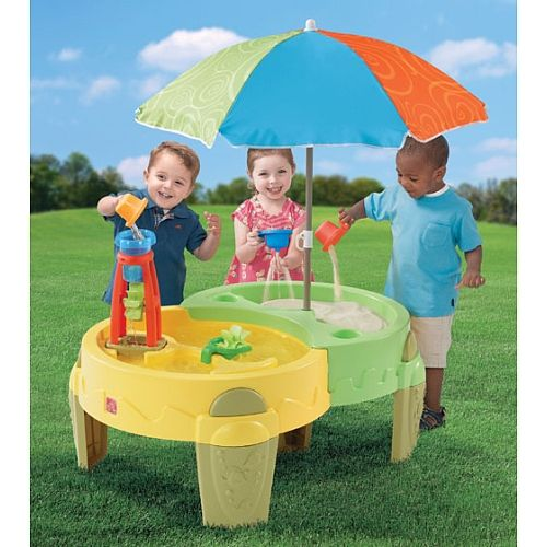 Shady Oasis Sand Water Play Table Step 2 Toys R Us