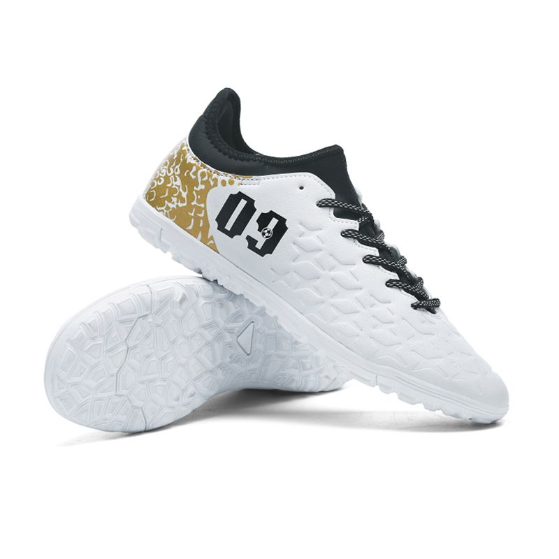 Ibuller Men Soccer Shoes Indoor Futsal Shoes With Socks Professional  Trainer TF Football Boot Zapatillas Futbol