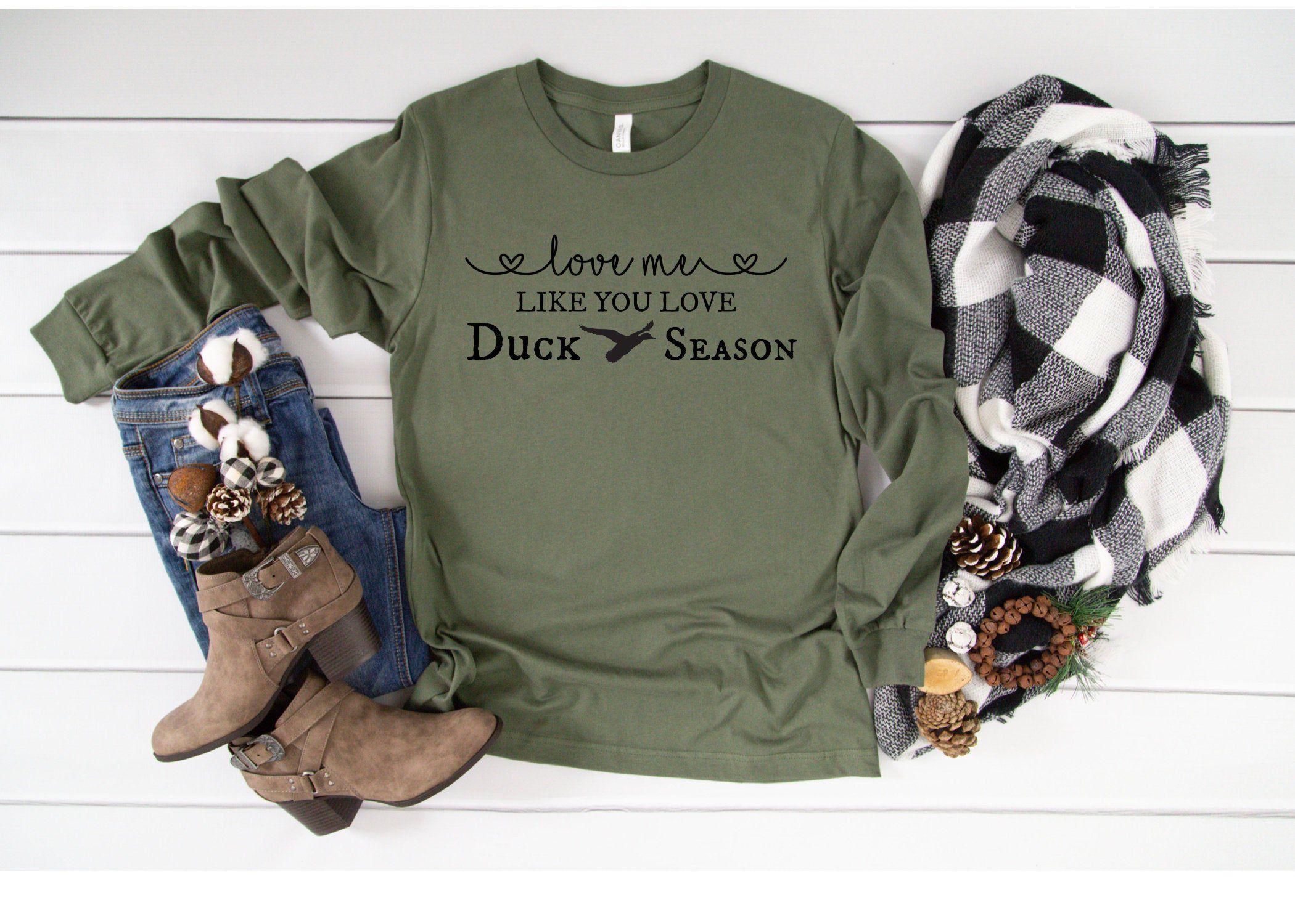 Download Duck Hunting, Love Me Like You Love Duck Season, Long ...
