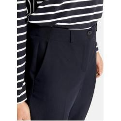 Photo of Gerry Weber 7/8 Hose mit Falten Dark Navy Frauen Gerry Weber