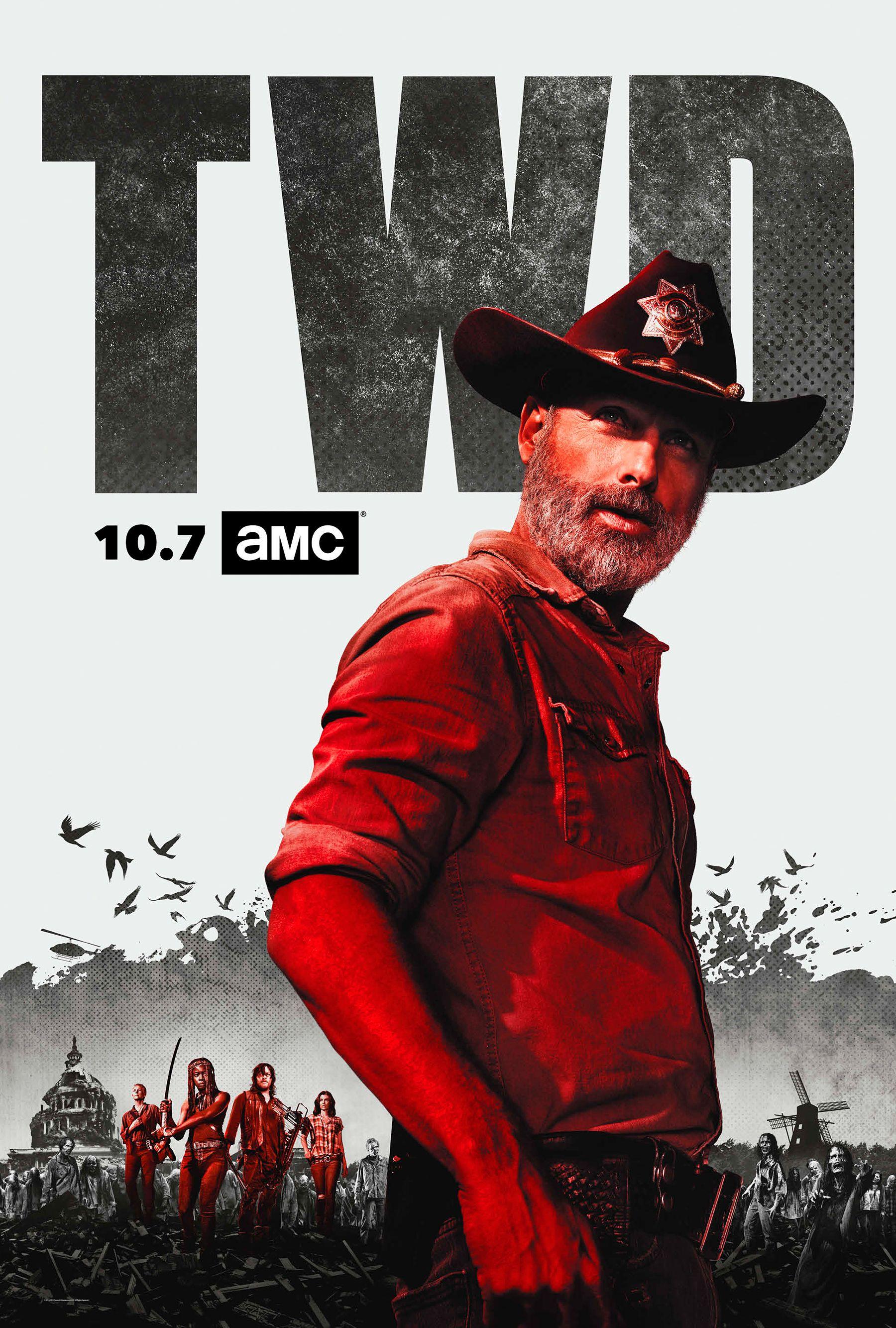 See Walking Dead Stars Andrew Lincoln Danai Gurira More In New