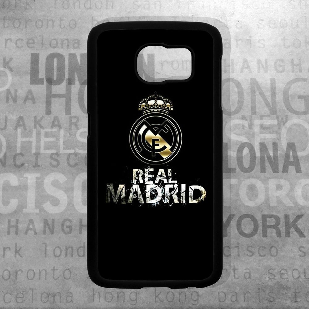 Pics photos batman logo evolution design for samsung galaxy case - Fc Real Madrid Logo Football Case Cover For Samsung Galaxy S5 S6 S6 Edge