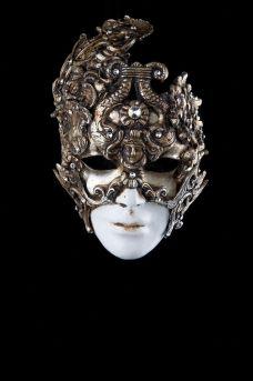 Venetian Mask,Baroque Face,Original mask