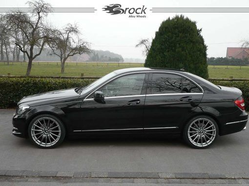 mercedes benz w204 brock b36 ksb felgen alloy wheels. Black Bedroom Furniture Sets. Home Design Ideas