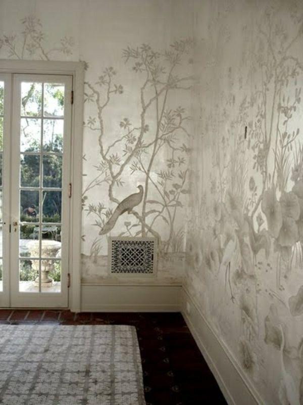 Metallic wandfarbe f r ein luxuri ses ambiente in ihrer wohnung ideen rund ums haus - Wandfarbe metallic ...