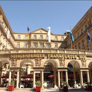 Steigenberger Frankfurter Hof Located In Central Frankfurt Steigenberger Frankfurter Hof Is A Business Friendly Hotel Within Walking Distance Of Comme Alemania