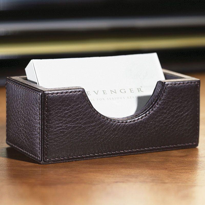 Bomber jacket business card holder leather desk accessory bomber jacket business card holder leather desk accessory levenger reheart Images