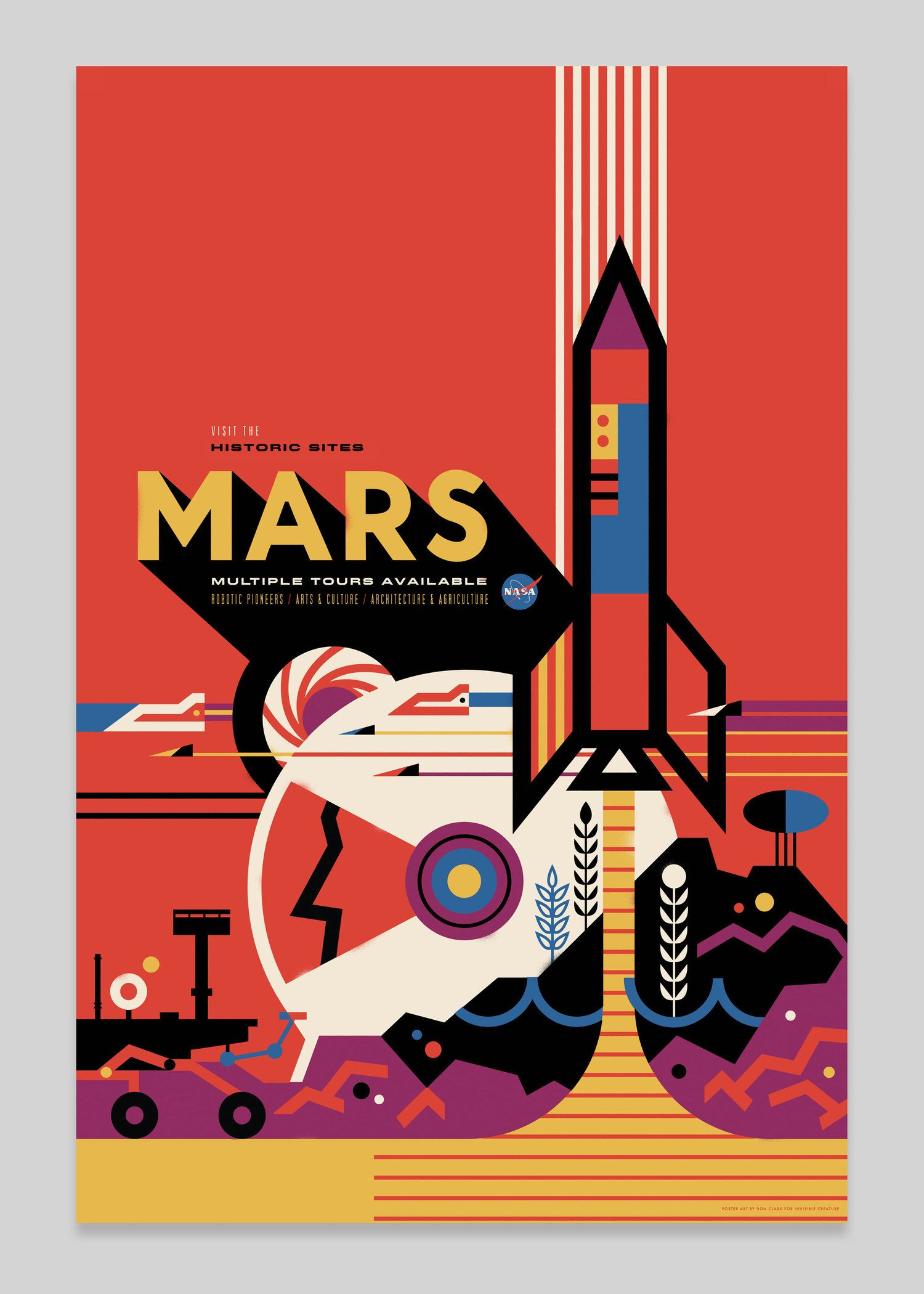 Nasa Invisible Creature Space Tourism Posters Space Travel Posters Nasa Poster