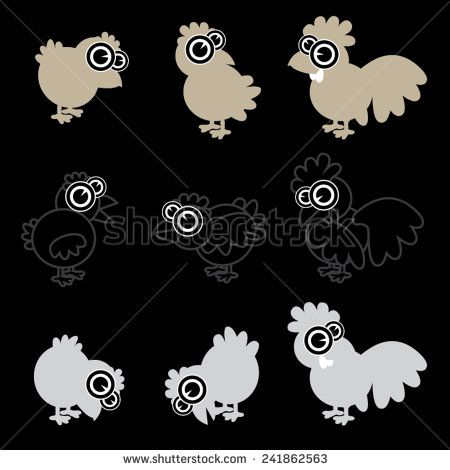 abstract, and, animal, art, background, bird, black, card, cartoon, character, chick, chicken, clip, cock, colorful, cute, design, easter, egg, fabric, farm, fowl, fun, funny, graphic, hen, icon, isolated, mascot, paper, rooster, set, textile, texture, vector, white