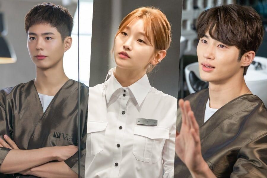 "Park Bo Gum, Park So Dam, And Byun Woo Seok Show Passion And Dedication Behind The Scenes Of ""Record Of Youth"""