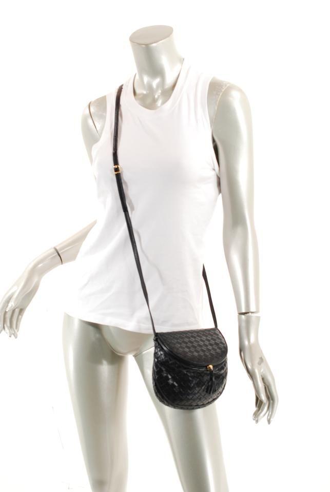 586ac608fd Bottega Veneta Woven Leather Cross Body Bag