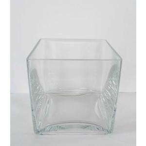 Large Glass Square Vase Clear Kmart Glass Vase