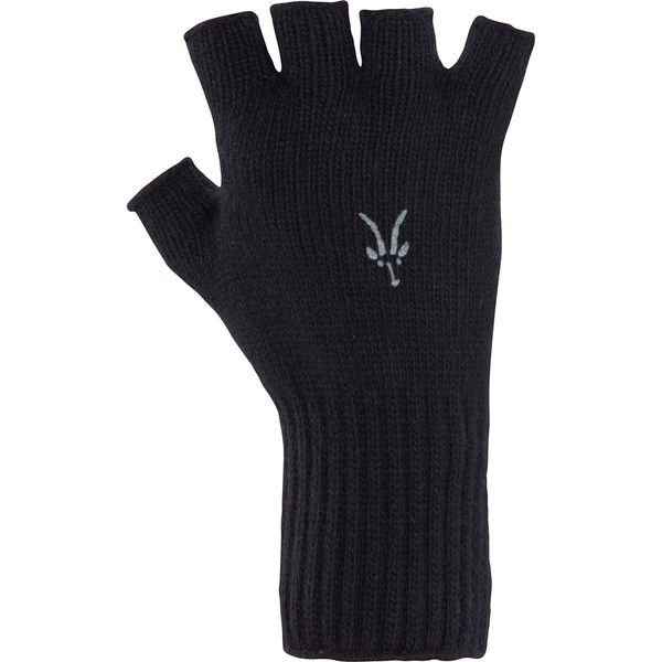 Ibex Knitty Gritty Fingerless Wool Glove (64 RON) ❤ liked on Polyvore featuring accessories, gloves, palm gloves, ibex gloves, fingerless gloves, wool fingerless gloves and wool gloves
