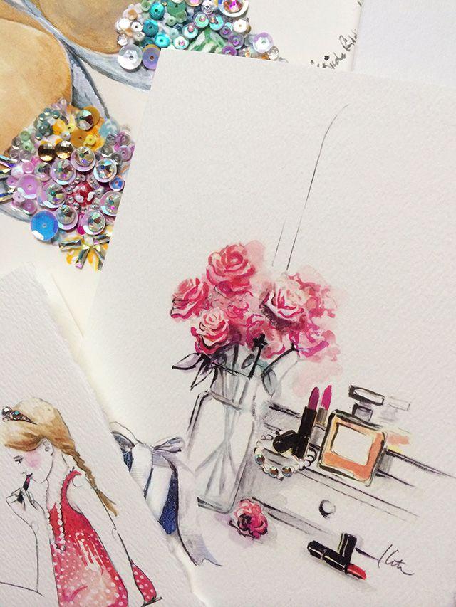 Swarovski x Paper Fashion