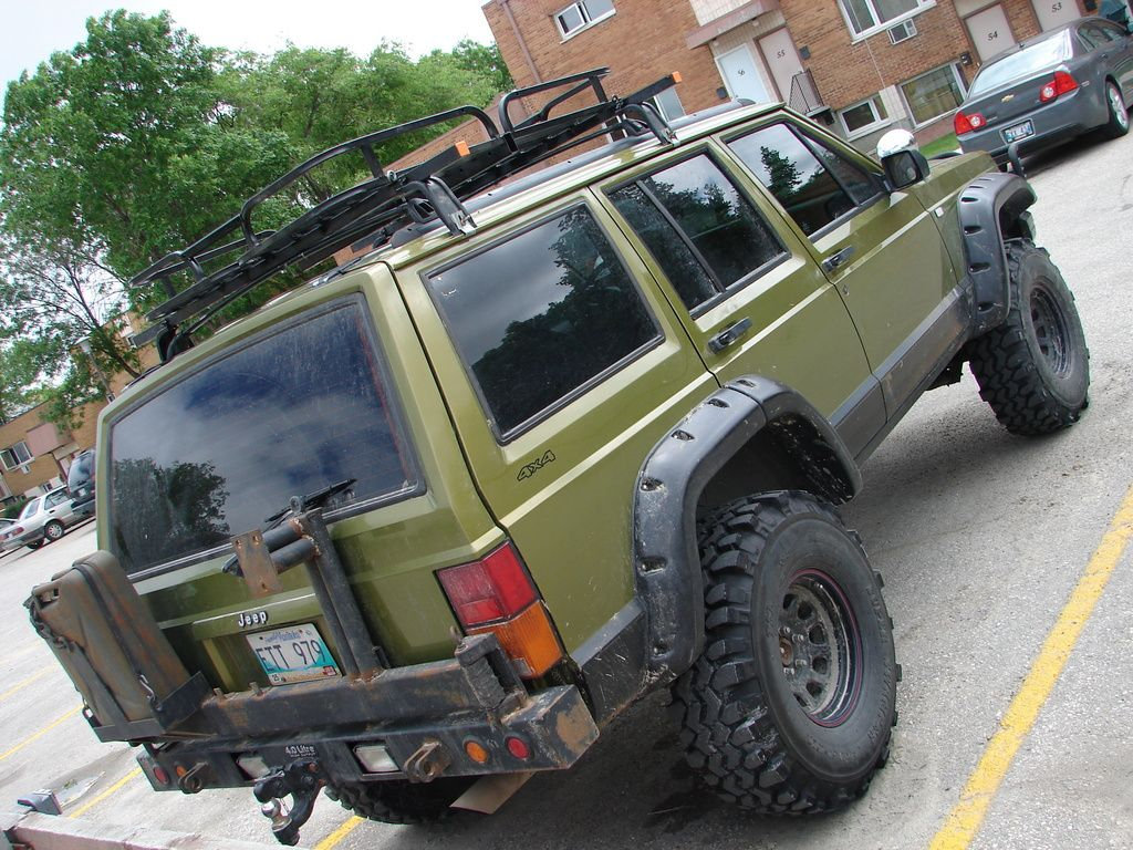 bumper & rack (With images) Jeep cherokee