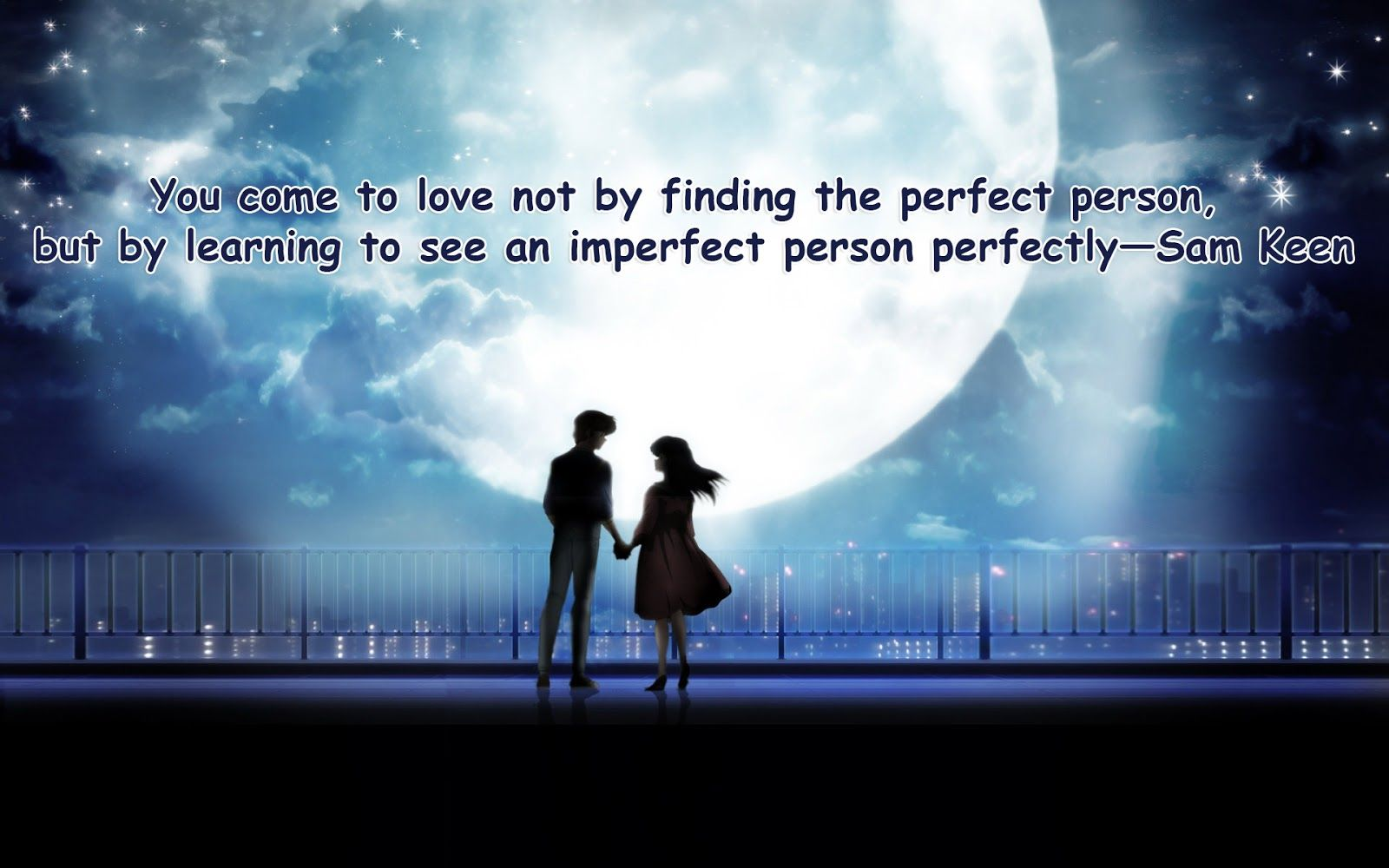 Whom To Love Perfect Or Imperfect Quotes Quotes Ring