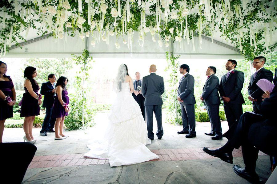 Twighlight Inspired Ceremony Decor River Oaks Garden Club