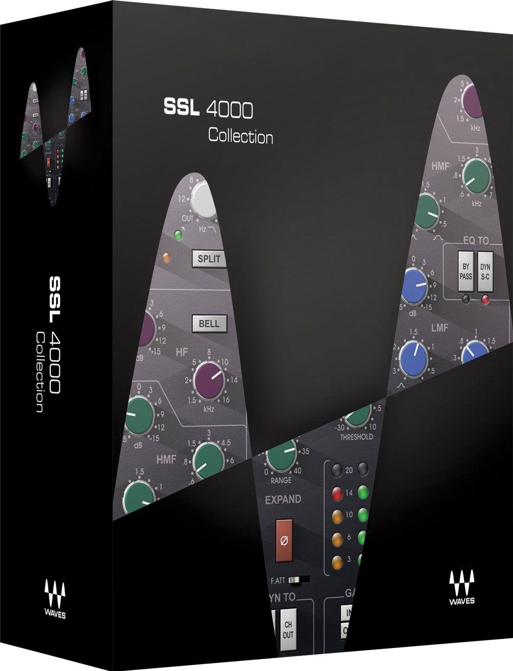 Waves Ssl 4000 Collection Plug In Bundle Waves Music Software Waves Vst