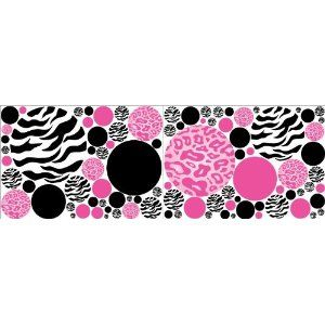 I love this for Alexis' bedroom. It is being done in pink and purple. This would grow with her so well (vinyl clings)