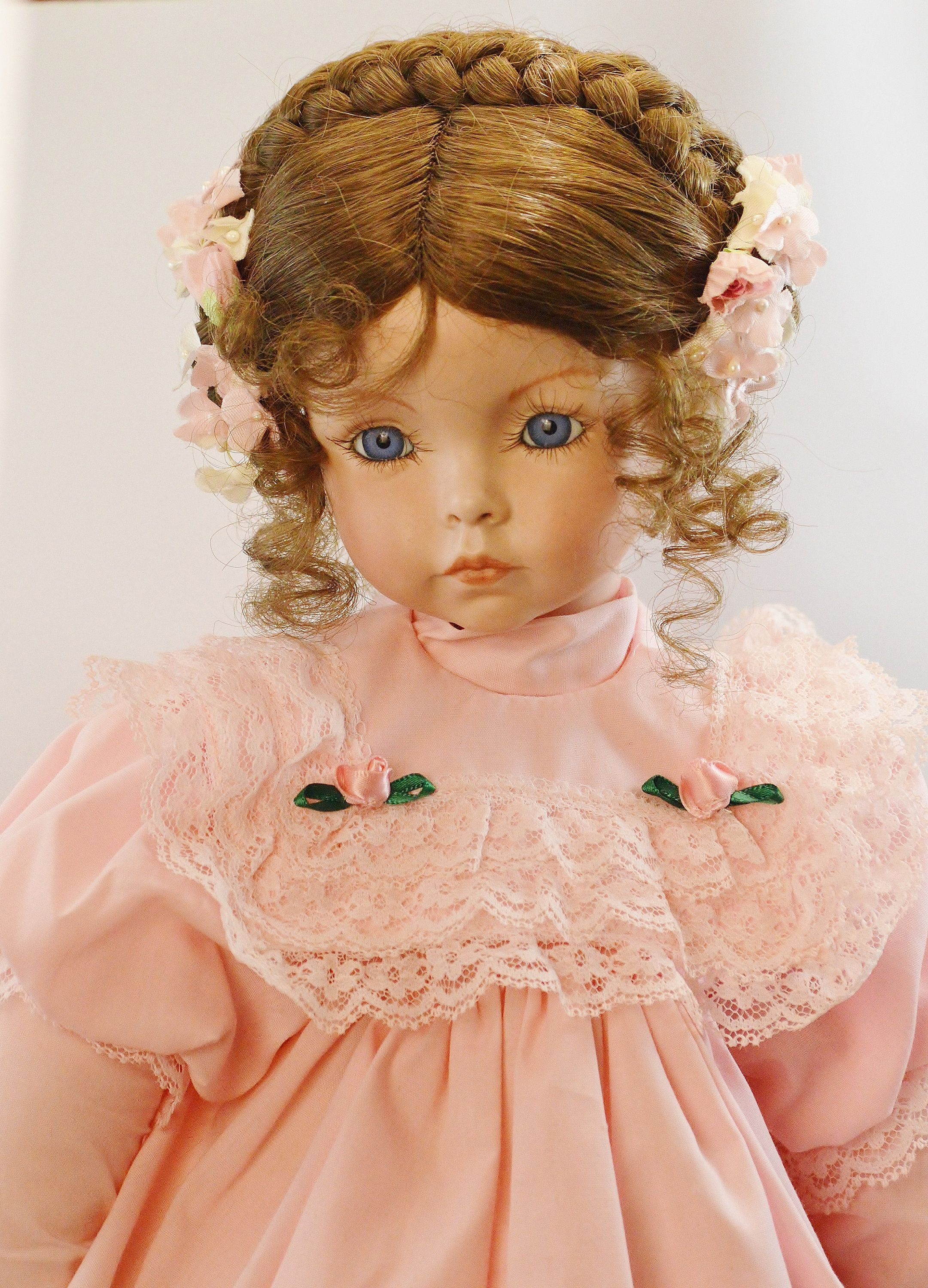 19 emily collectible doll by artist dianna effner etsy