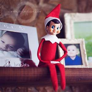 Christmas is coming!  The Elf on the Shelf watches your kids at home, then reports to Santa each night.  I'll be gettin' mine soon!  :)...www.elfontheshelf.com