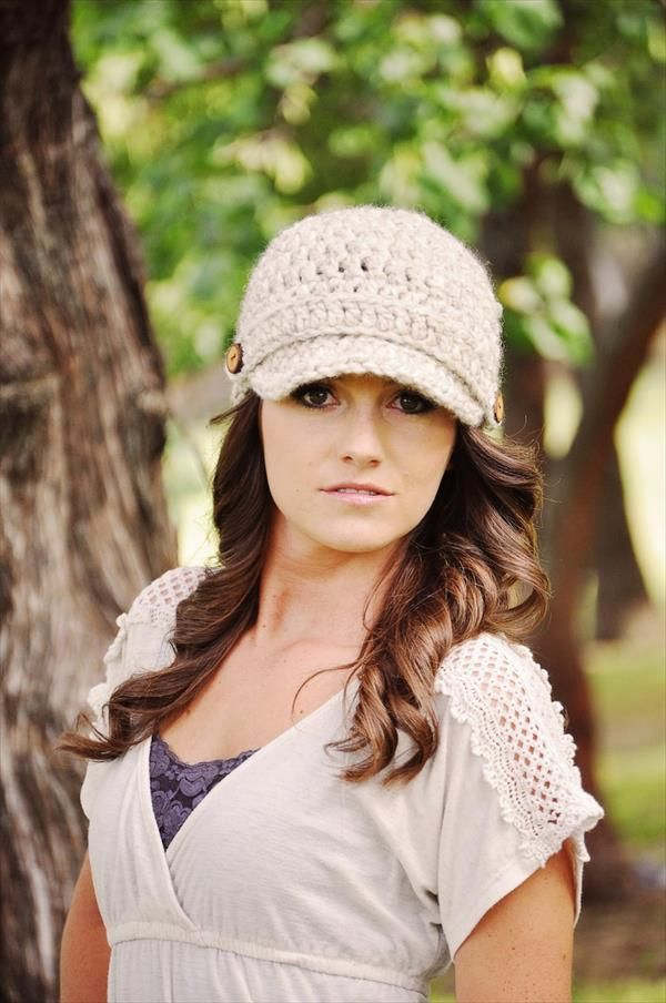 10 Easy Crochet Hat Patterns for Beginners | Pinterest | Gorros ...