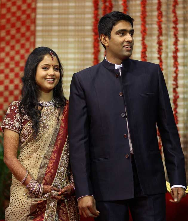 R Ashwin And His Wife Ravichandran Ashwin Wi...