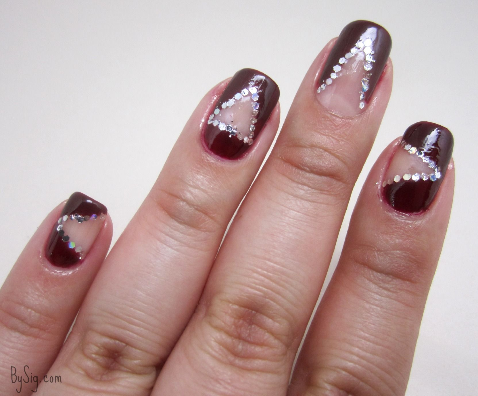 Negative space nail art tutorial using scotch tape read more at negative space nail art tutorial using scotch tape read more at bysig prinsesfo Images
