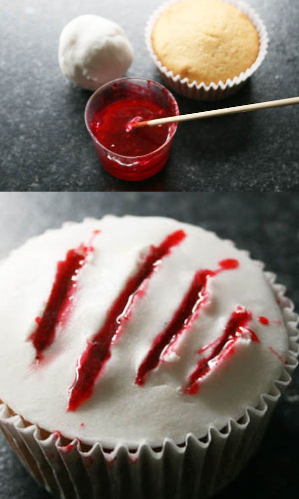 Claw Halloween Cupcake Tutorial