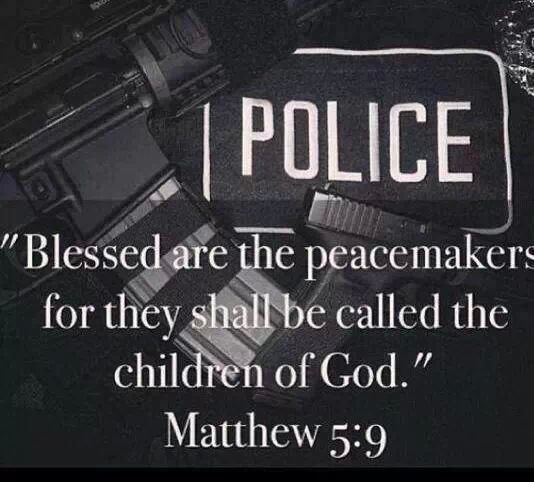 """Blessed are the peacemakers for they shall be called the ..."