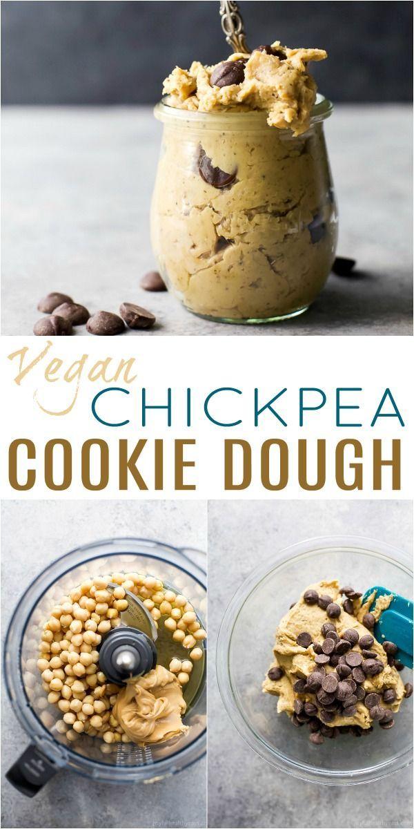 Vegan Cookie Dough #healthycookiedough