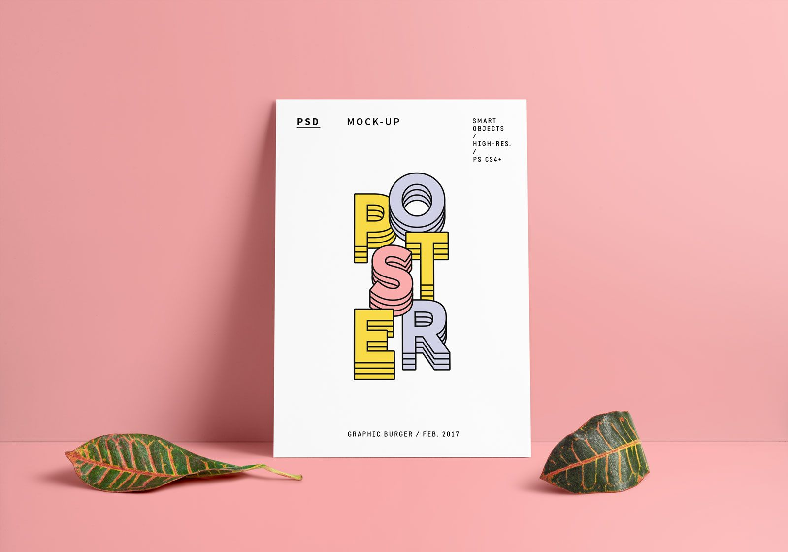 Free Vertical A4 Poster Mockup Psd Poster Mockup Poster Mockup Psd Mockup