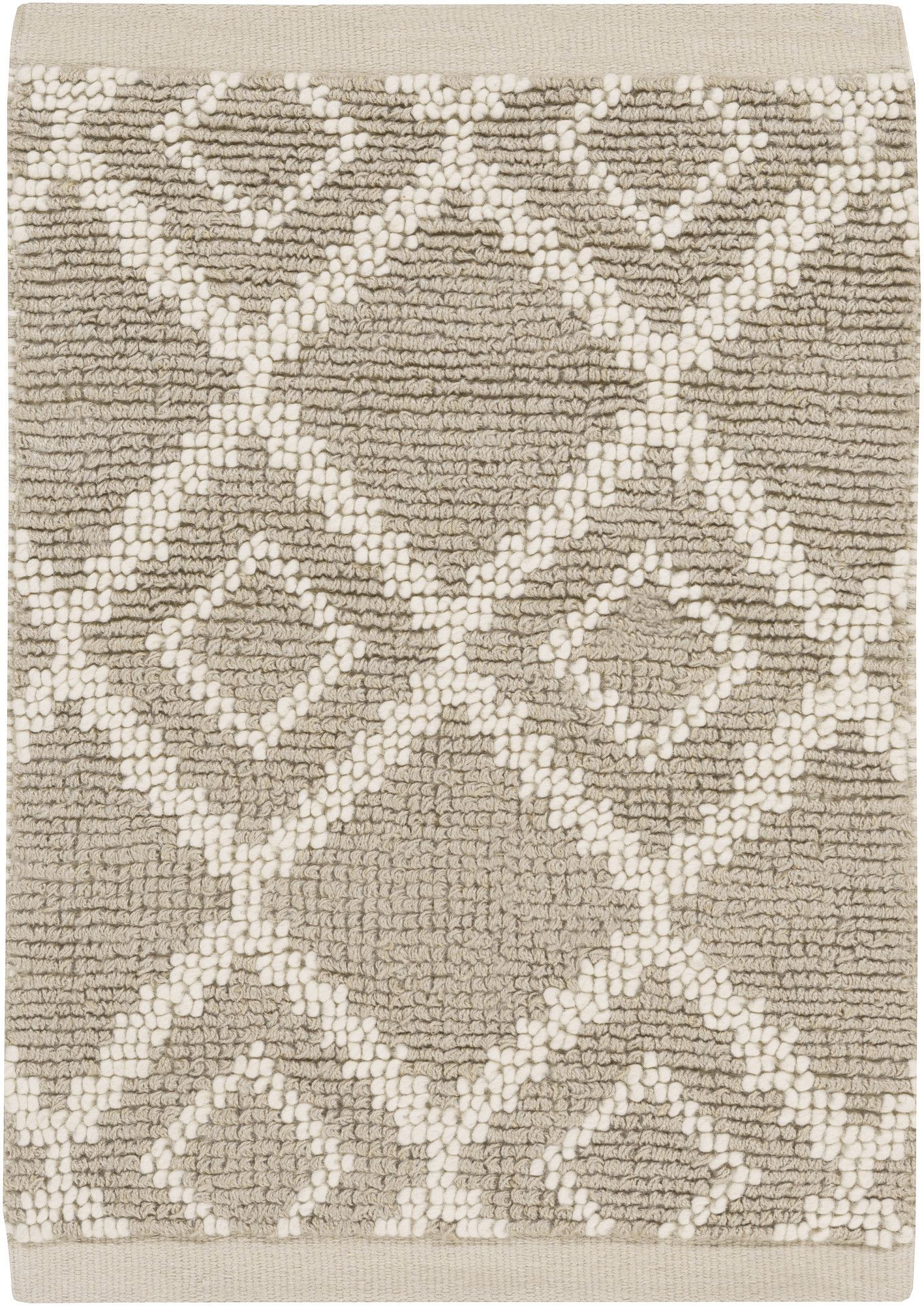 Aztec Ivory/Light Gray Rug