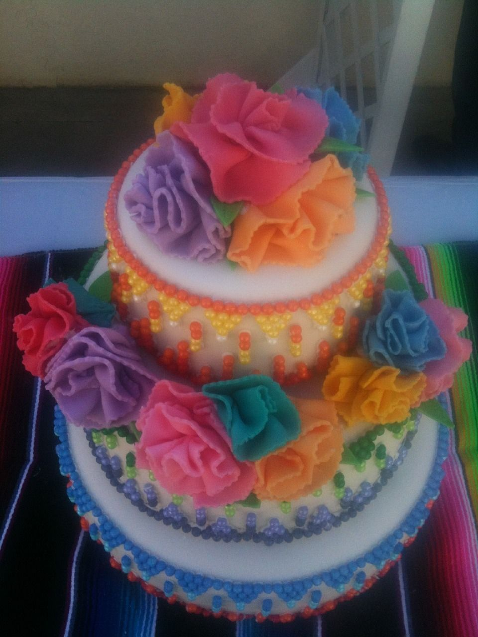 fiesta themed wedding cake themed wedding cake by ruthie 14226