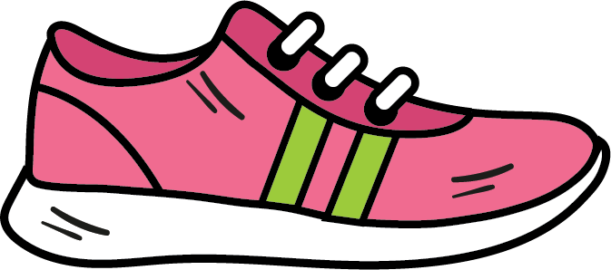 athletic shoe icon fitness clipart shoe clipart everyday icons rh pinterest com clip art shoe prints clip art shoes and boots