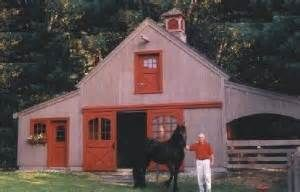 More from amazon com nine small horse barn plans complete pole barn