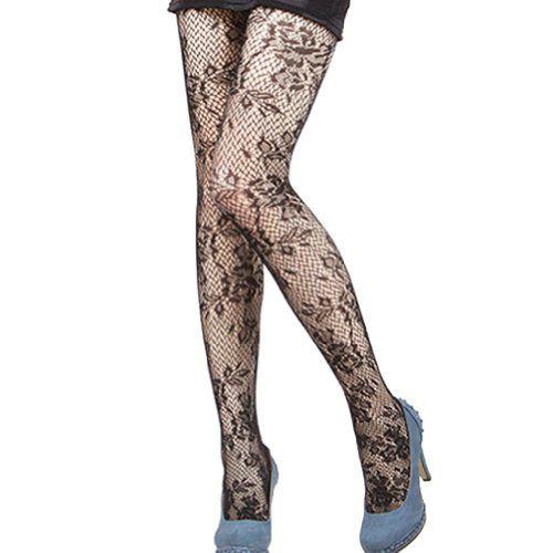 FUNOC Sexy Black Fishnet Pattern Jacquard Stockings Pantyhose Tights FUNOC http://www.amazon.com/dp/B00N2KD8LI/ref=cm_sw_r_pi_dp_sVyrub1TS50F0