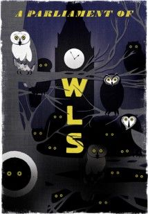 A PARLIAMENT OF OWLS LIMITED EDITION PRINT