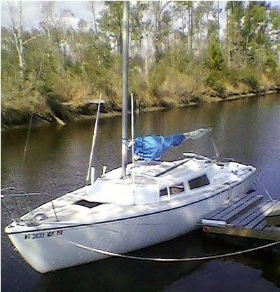 1979 Catalina 22 swing keel no trailer $1,500 00 | Sailboat