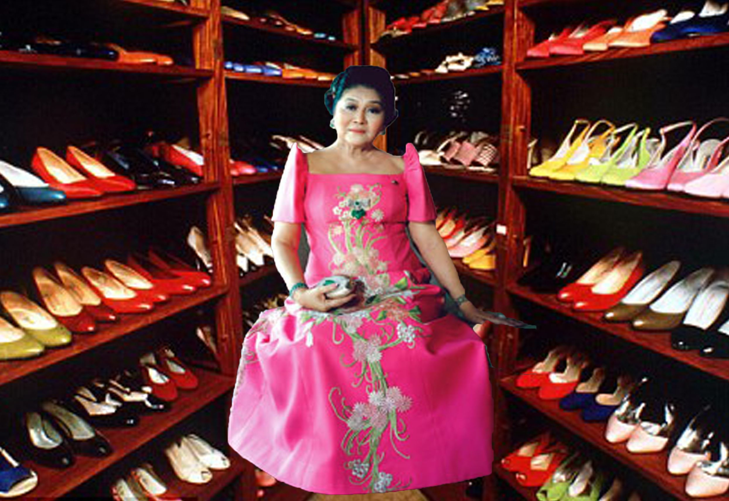 Sarah Palin\'s Shoes\' BFF the Magical Shoe Imelda Marcos. | Imelda ...