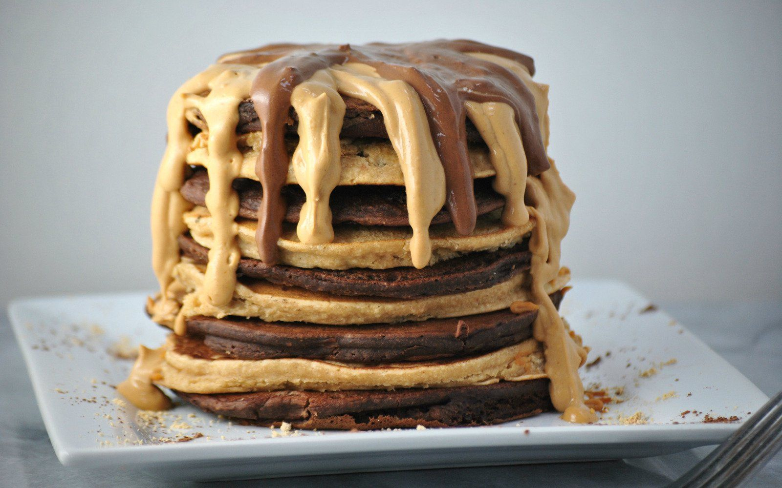 If you have an organic affinity for all things peanut butter, then these are the pancakes for you.