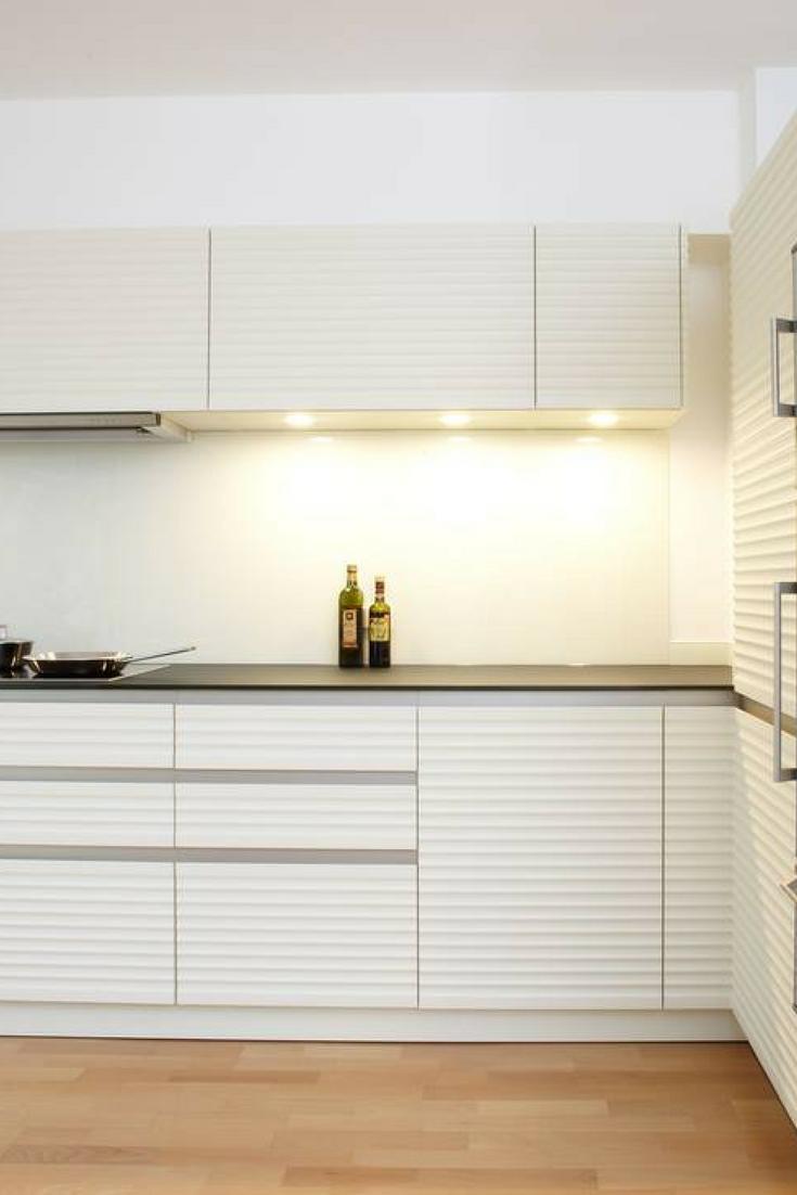 Küche in Weiß: matt oder Hochglanz? Was ist besser | Küchen fronten ...