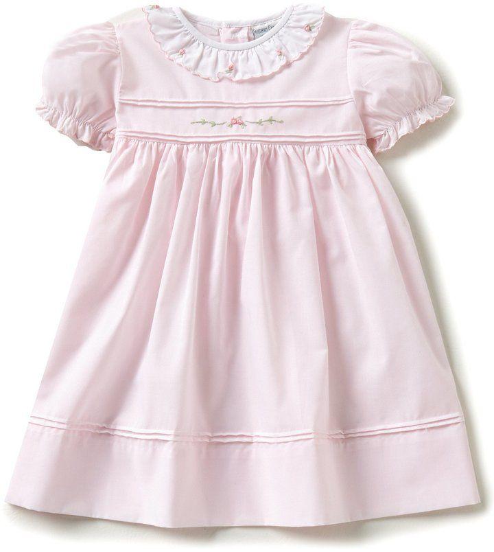 e12cd7d6b Friedknit Creations Baby Girls 12-24 Months Ruffled Scallop Rose ...