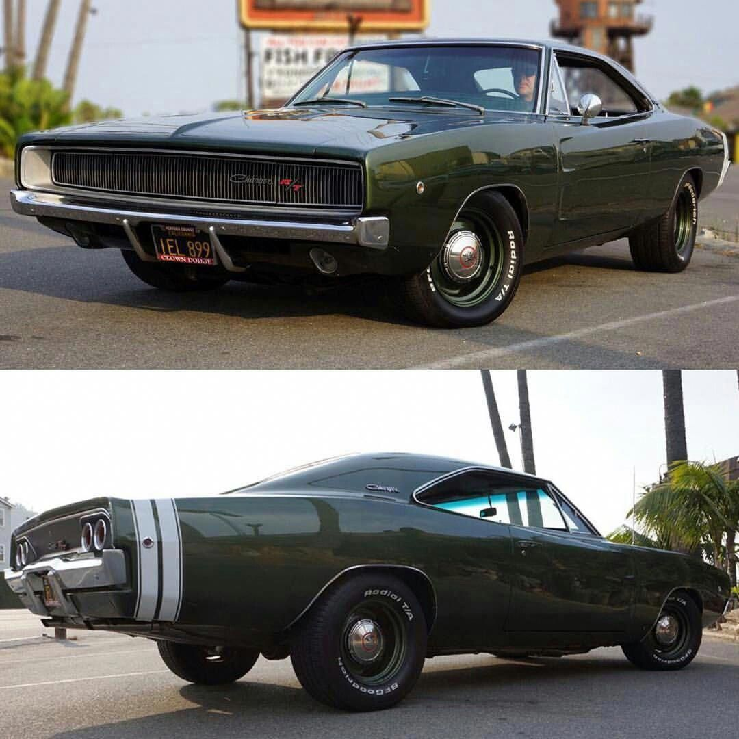 1968 Dodge Charger More #DodgeChargerclassiccars
