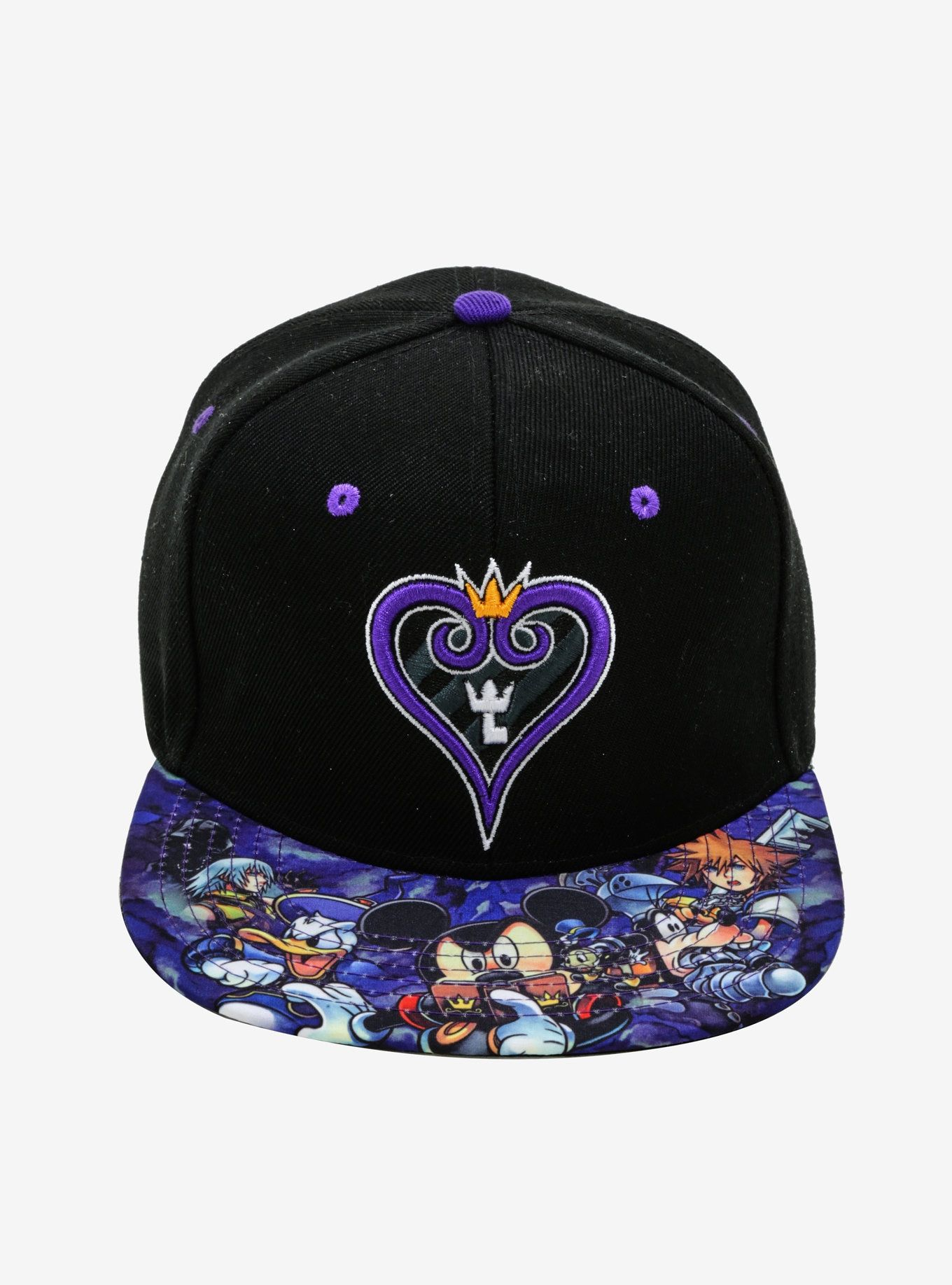 a768205b Disney Kingdom Hearts Sublimated Bill Snapback Hat in 2019 | Clothes ...