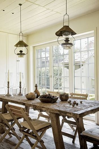 Love This Kitchen Tableadd A Bench To Make It Even More Farmhouse - How to make a country kitchen table