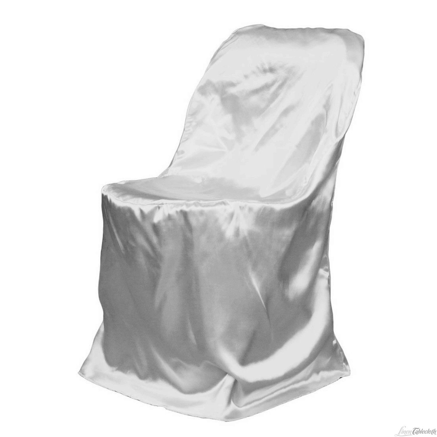 chair covers for purchase evenflo majestic high buy silver satin folding weddings and