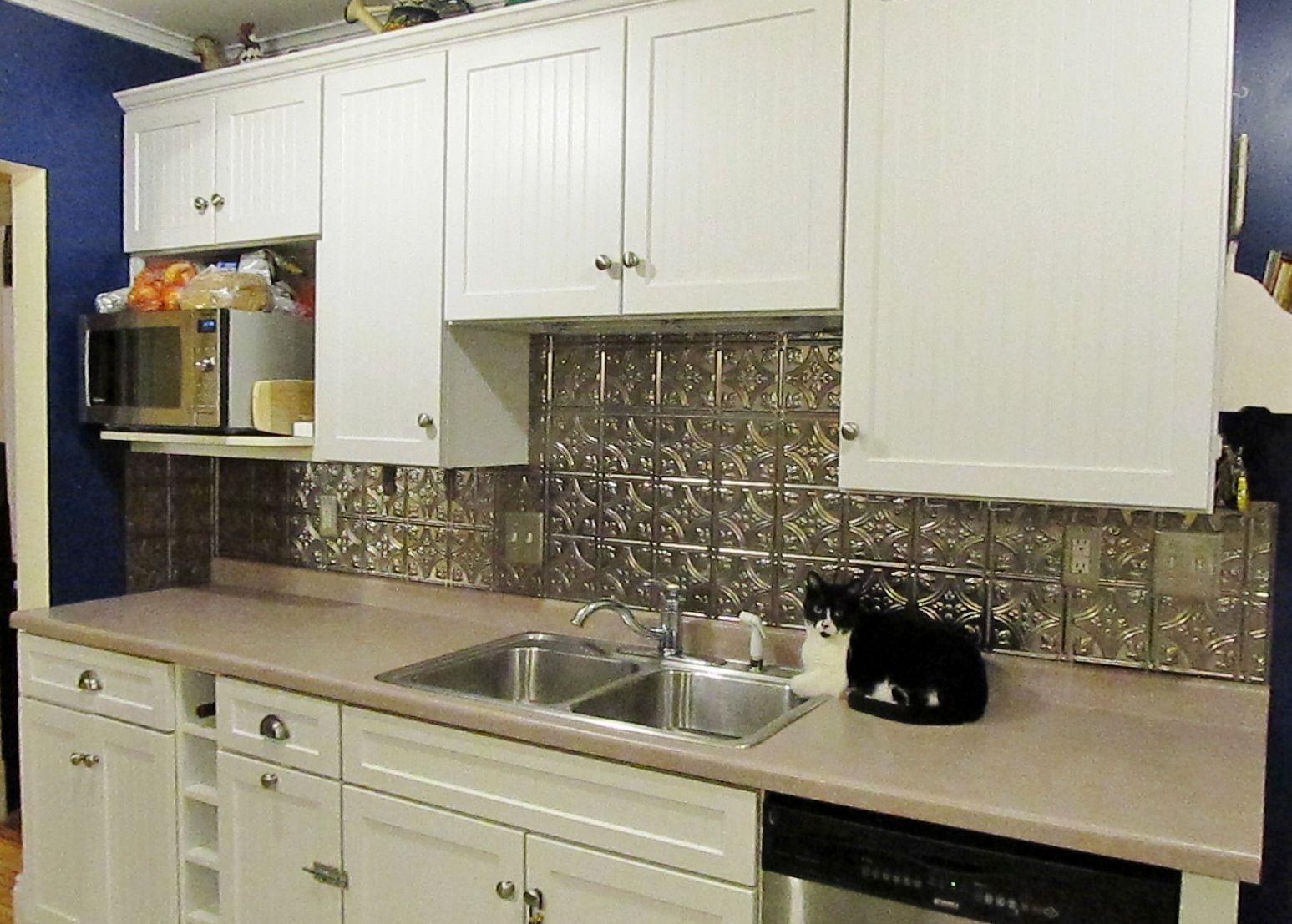 A project actually completed rather than just pinned! -- a new ...
